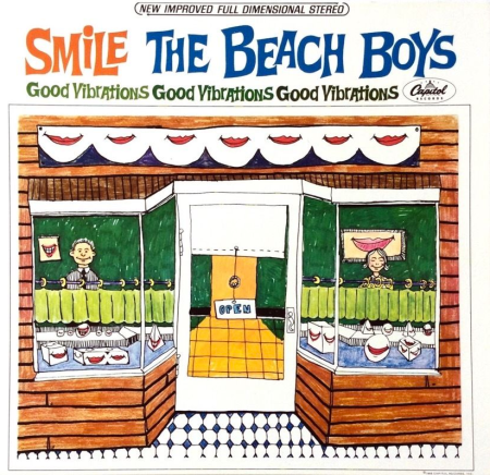 SMiLE by The Beach Boys - front cover.