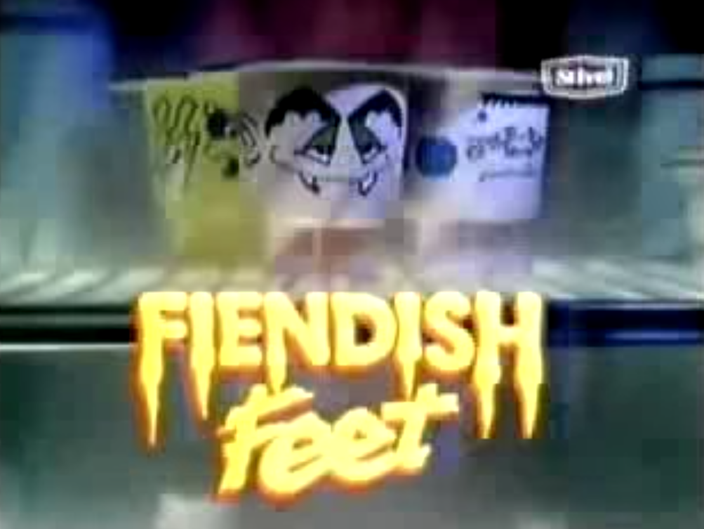 Fiendish Feet, as discussed by Tim Worthington and Ben Baker in Looks Unfamiliar.