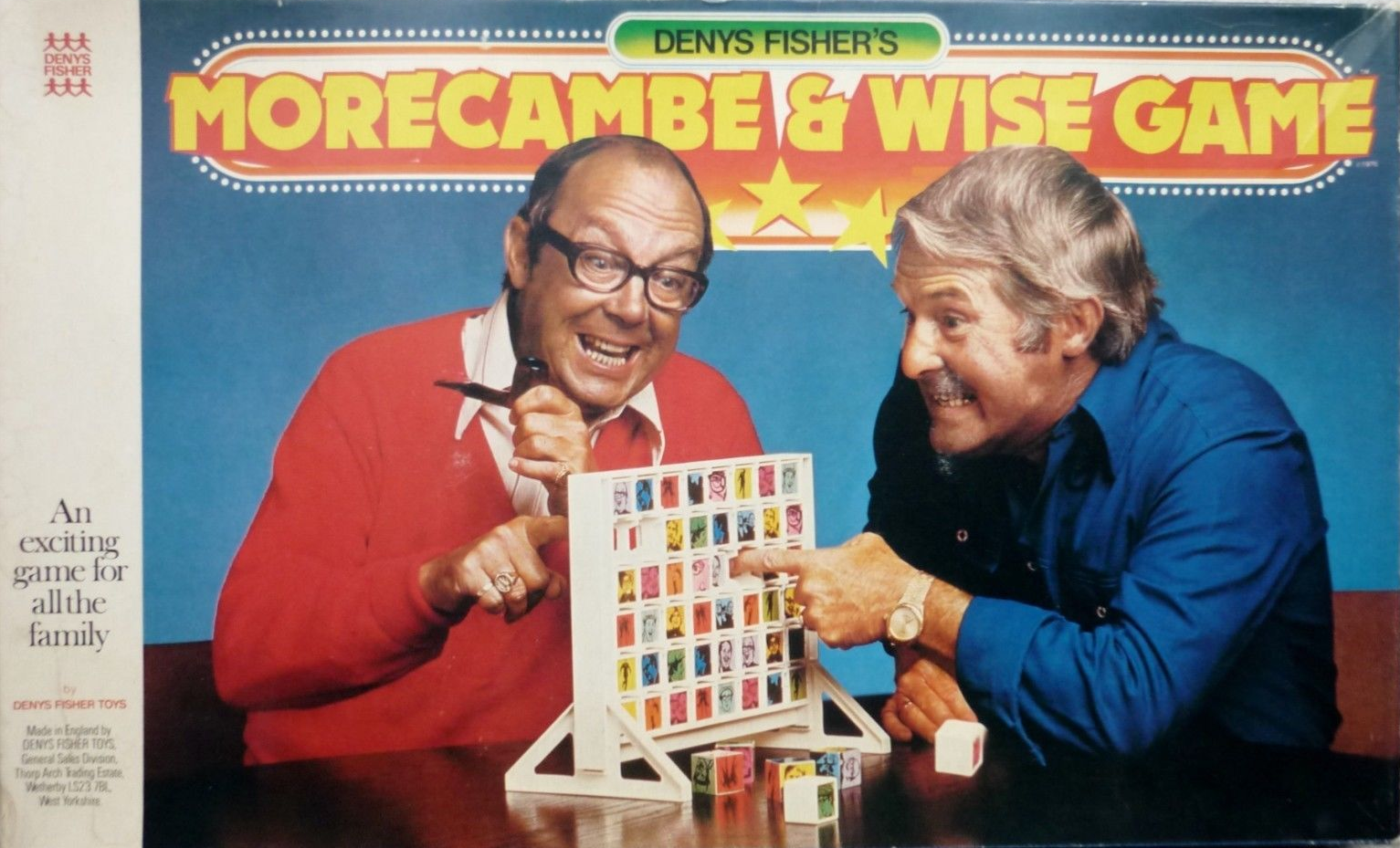 The Morecambe And Wise Game by Denys Fisher - listen to Stephen O'Brien and Tim Worthington talking about it in Looks Unfamiliar.
