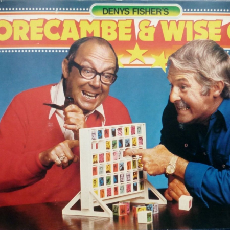 The Morecambe And Wise Game, as discussed by Tim Worthington and writer Stephen O'Brien in Looks Unfamiliar.