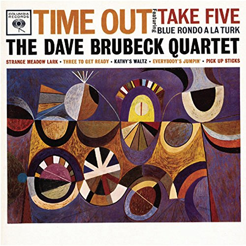 Time Out by The Dave Brubeck Quartet - front cover.