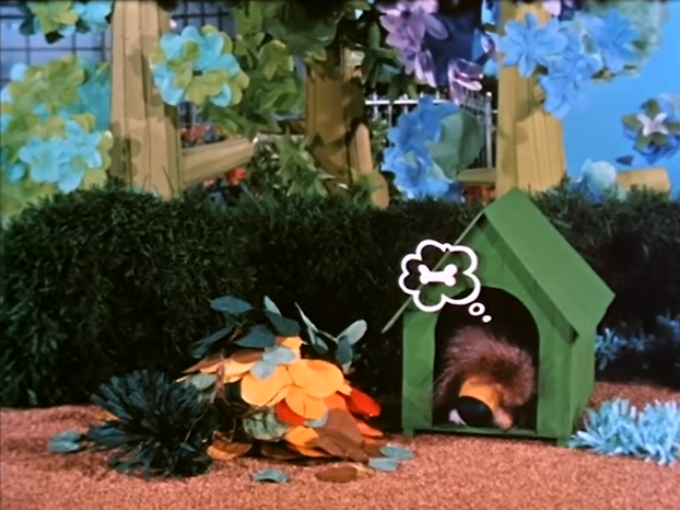 Dill The Dog from The Herbs: Belladonna The Witch (BBC1, 1968).