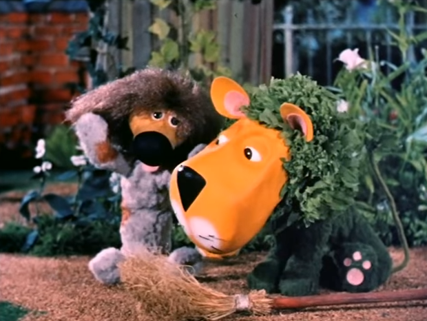 Dill and Parsley from The Herbs: Belladonna The Witch (BBC1, 1968).