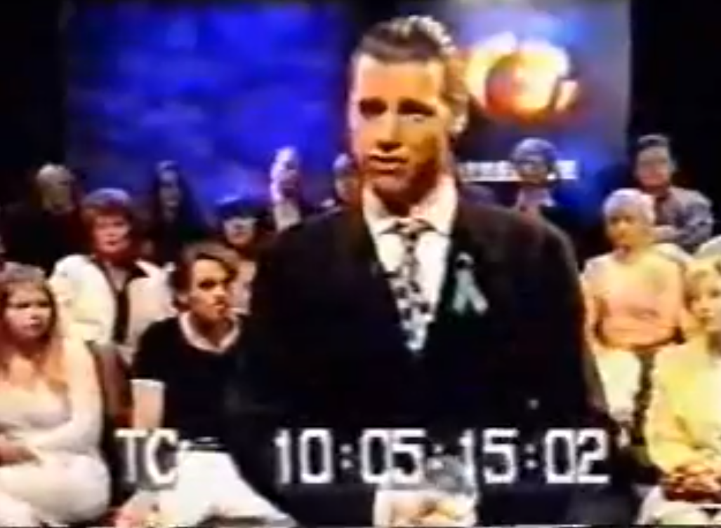 Chris Morris in unseen Brass Eye footage from Oxide Ghosts.