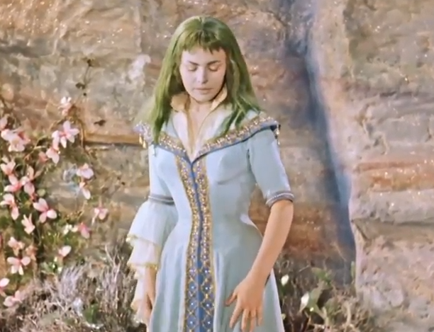 The Princess from The Singing Ringing Tree (DEFA, 1957).