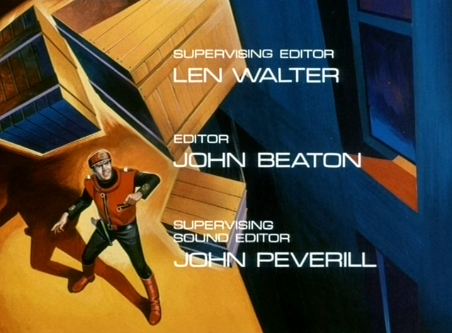 End titles of Captain Scarlet And The Mysterons.