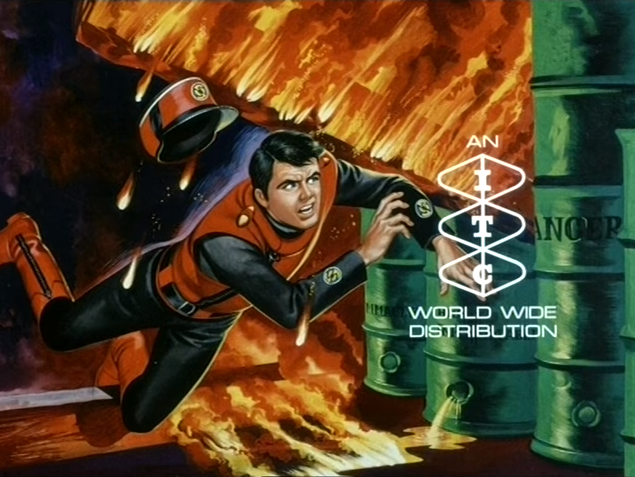 End titles of Captain Scarlet And The Mysterons (ITC, 1967).