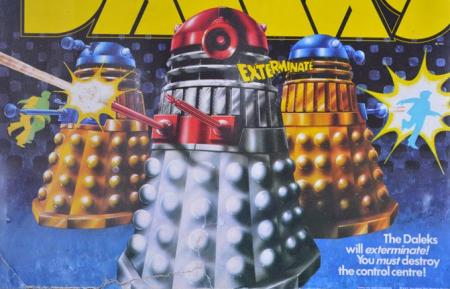 War Of The Daleks, as discussed by Tim Worthington and Georgey Spanswick in Looks Unfamiliar.