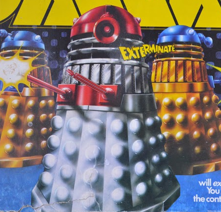 Denys Fisher's War Of The Daleks.
