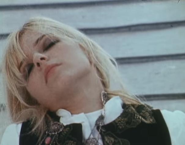 France Gall in the Teenie Weenie Boppie promo film (1968).