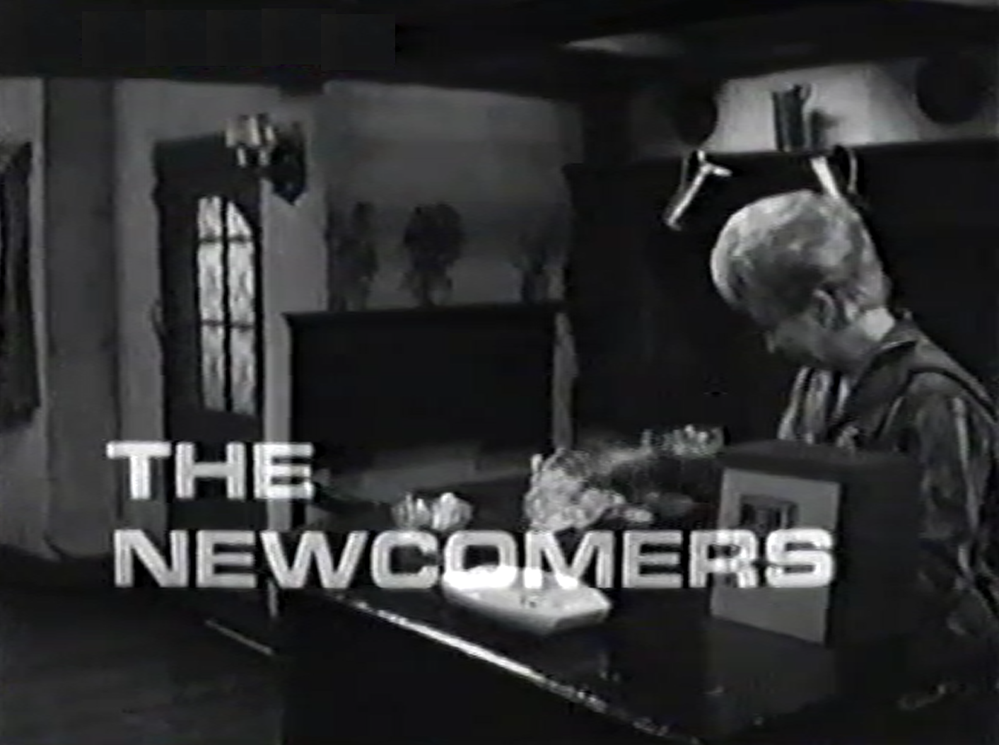 Opening caption from The Newcomers (BBC1, 1967).