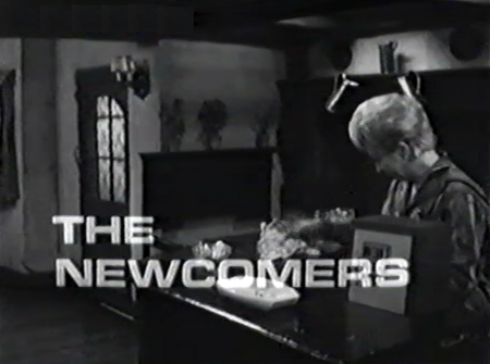 Opening caption from The Newcombers (BBC1, 1967).