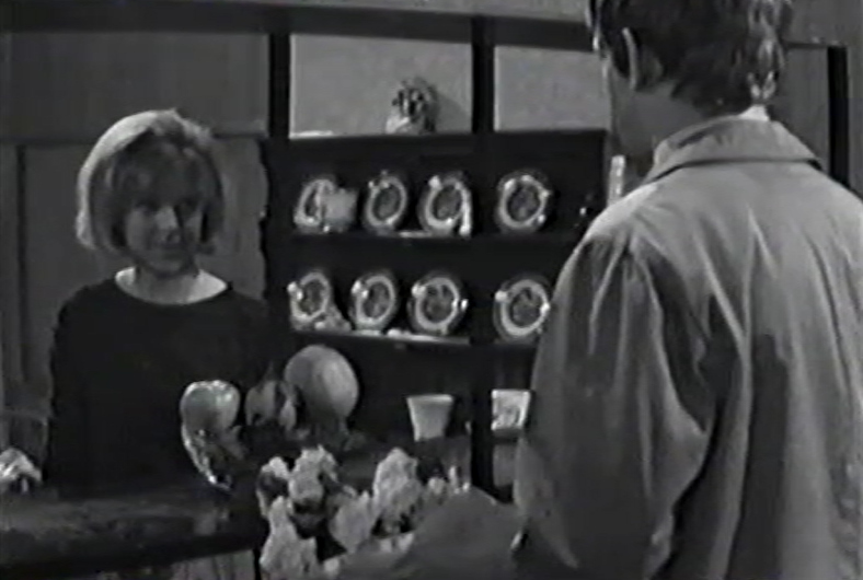 Sandra Payne and Jeremy Bulloch in The Newcomers (BBC1 1967)