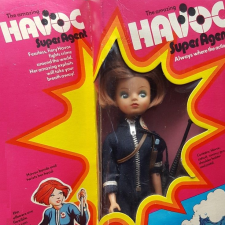 Mary Quant's doll Havoc, as discussed by Tim Worthington and journalist and broadcaster Samira Ahmed in Looks Unfamiliar.