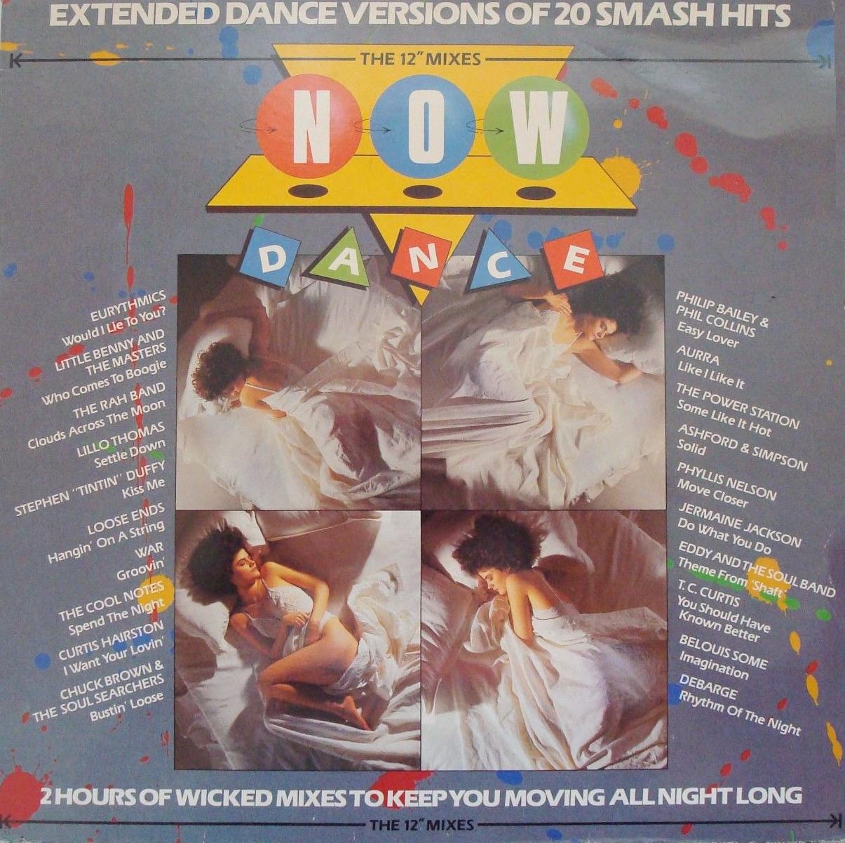 Now Dance (EMI/Virgin, 1985).