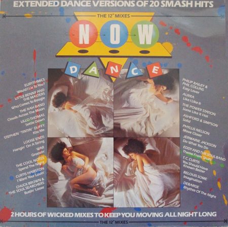 Cover of Now Dance (1985).