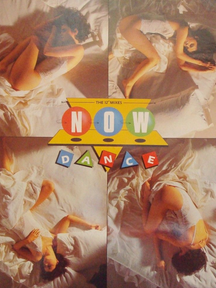 Magazine advert for Now Dance (1985).