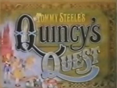 Tommy Steele's Quincy's Quest as discussed by Tim Worthington and writer Jacqueline Rayner in Looks Unfamiliar.