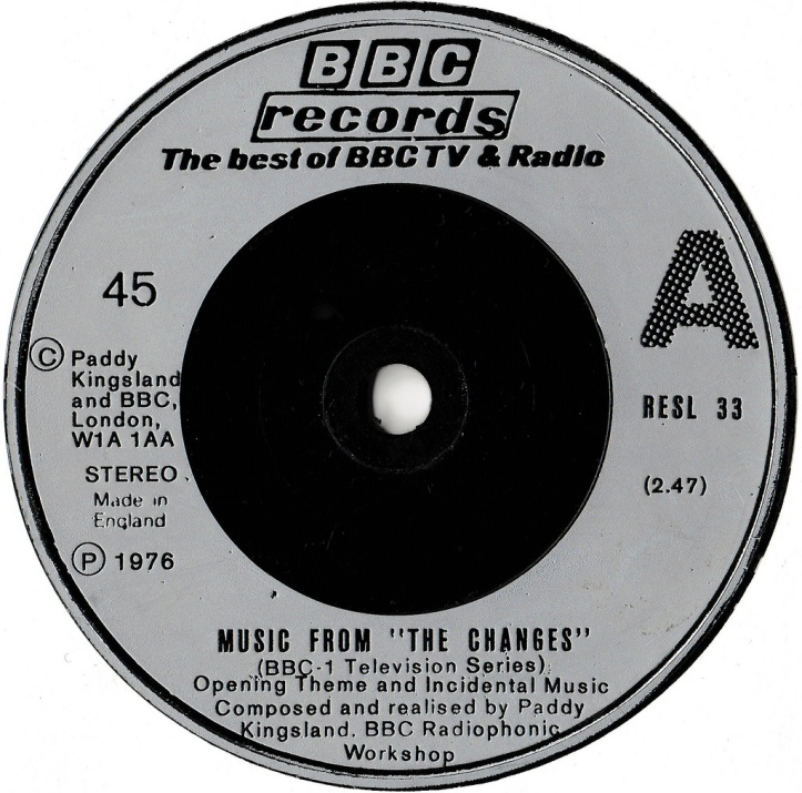 "Music From ""The Changes"" by Paddy Kingsland and the BBC Radiophonic Workshop."