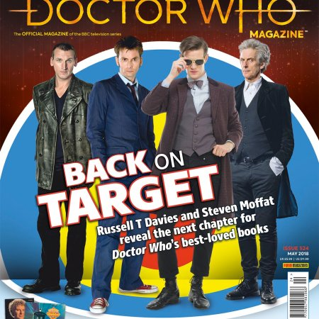 Doctor Who Magazine #524 - including a feature on Doctor Who related releases on BBC Records And Tapes by Tim Worthington.