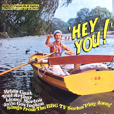 Play Away - Hey You! (BBC Records And Tapes, 1975).
