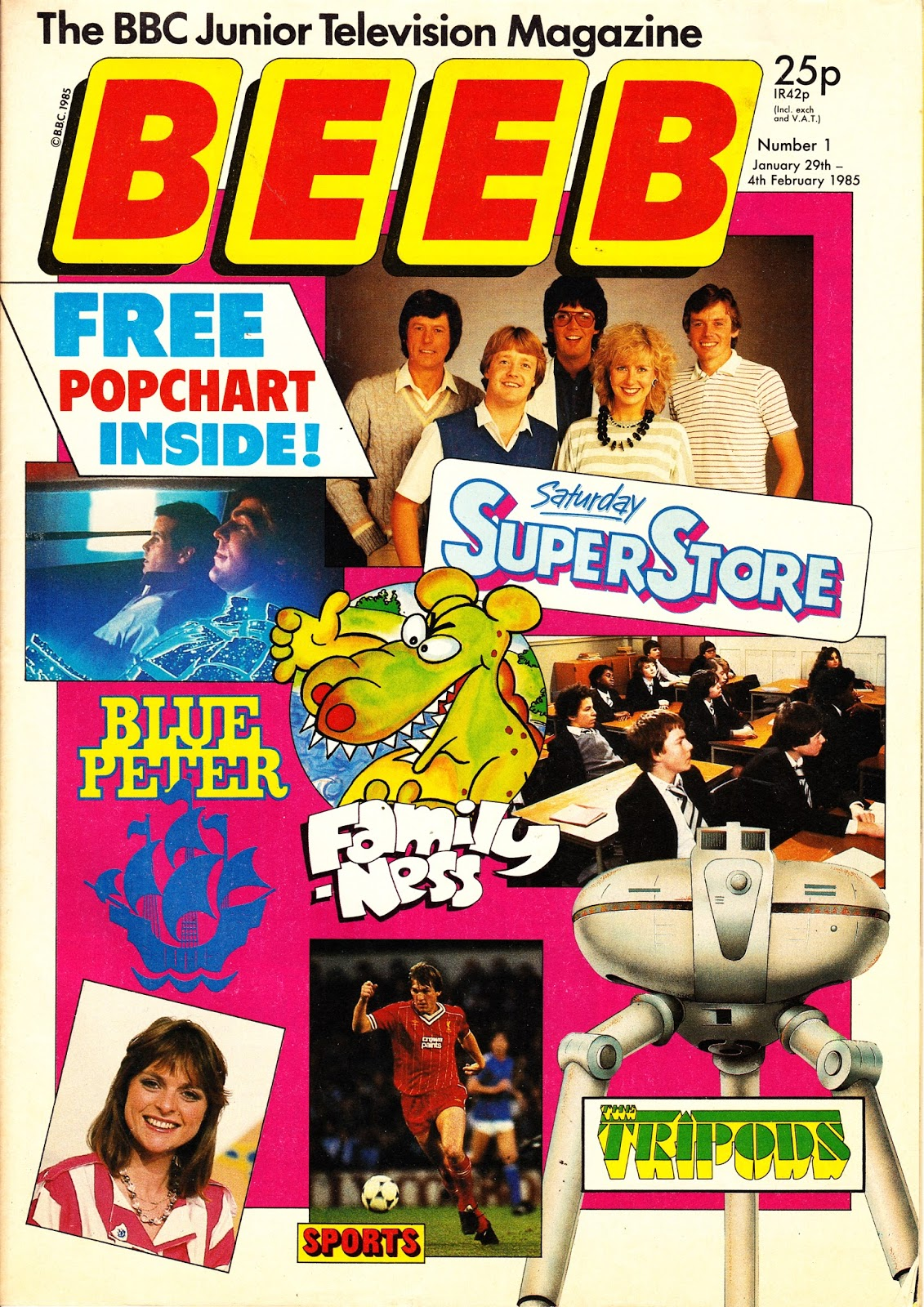 BEEB Magazine, as discussed by Tim Worthington and James Gent in Looks Unfamiliar.