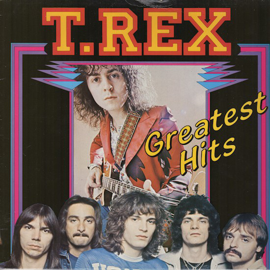 A shoddy T-Rex 'Greatest Hits', as discussed by Tim Worthington and writer James Gent in Looks Unfamiliar.