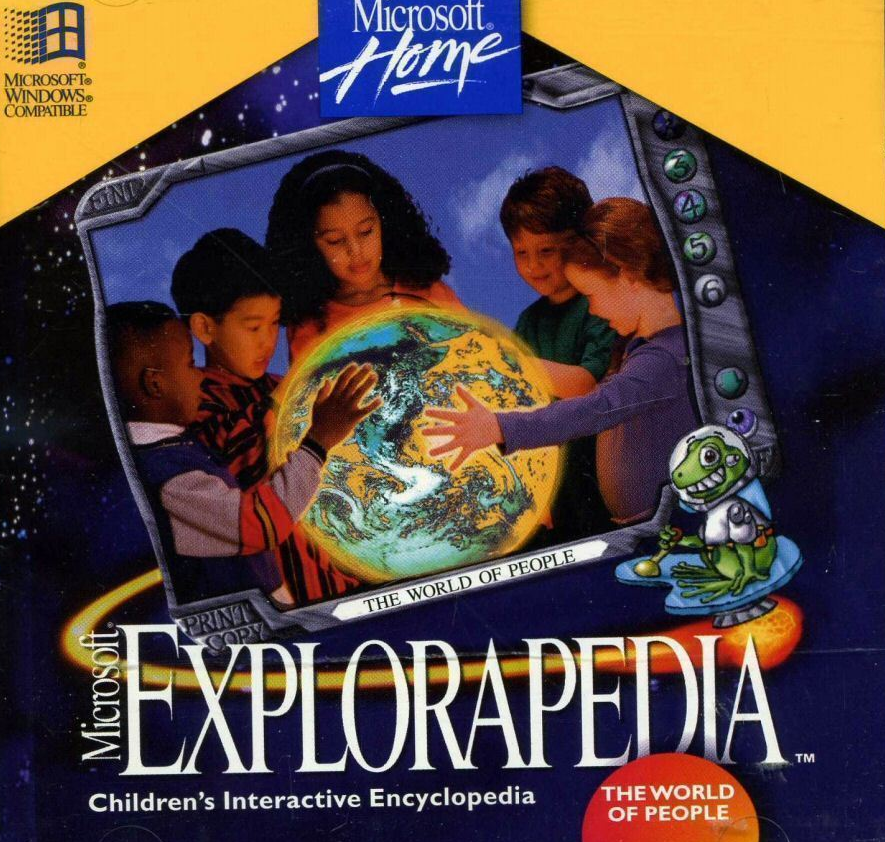 Microsoft Explorapedia, as discussed by Tim Worthington and Ros Ballinger in Looks Unfamiliar.