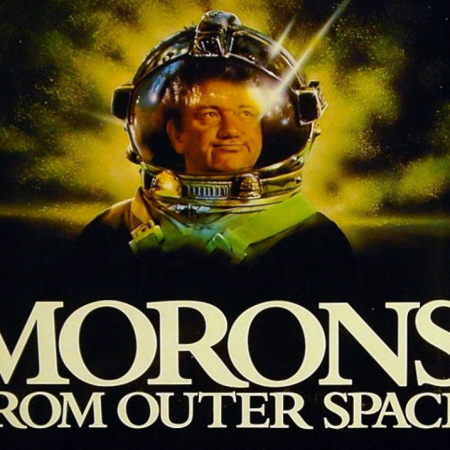 Morons From Outer Space (1985), as discussed by Tim Worthington and Rich Nelson on Betamax Video Club.
