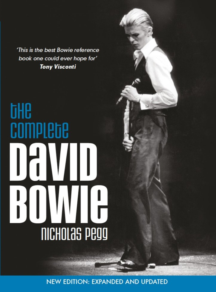 The Complete David Bowie by Nicholas Pegg.