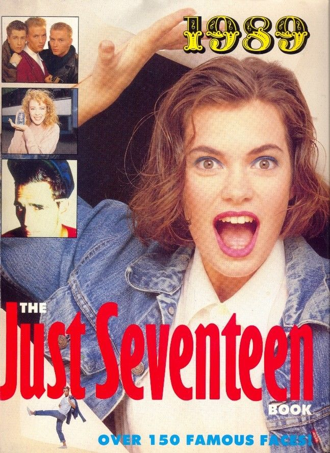 The Just Seventeen Yearbook, as discussed by Tim Worthington and writer Jenny Morrill in Looks Unfamiliar.