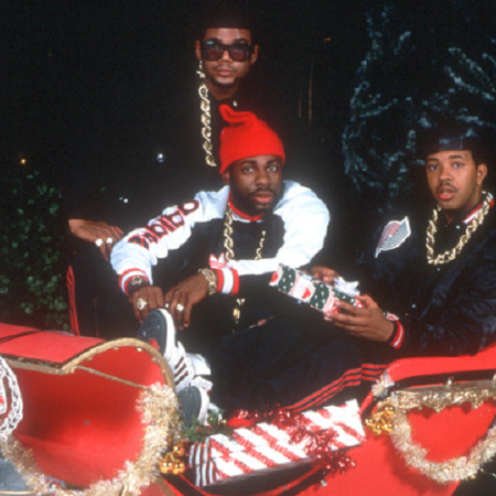 Christmas In Hollis by Run DMC, as discussed by Tim Worthington and writer Stephen O'Brien in Looks Unfamiliar.