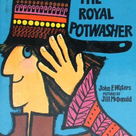The Royal Potwasher, as discussed by Tim Worthington and journalist Emma Burnell in Looks Unfamiliar.