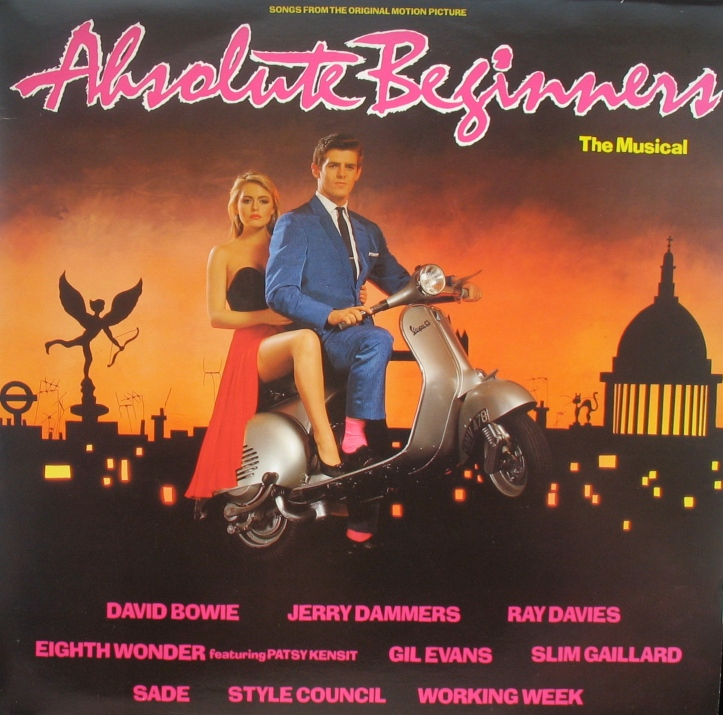 The Absolute Beginners soundtrack album, 1986.