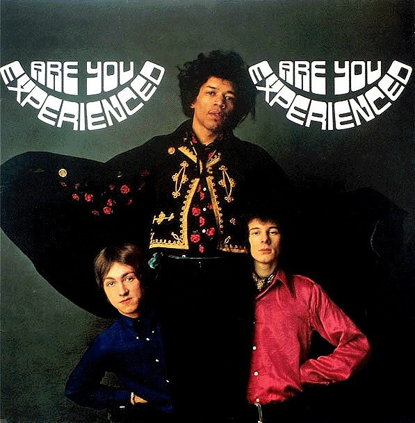 Are You Experienced? by The Jimi Hendrix Experience - front cover.