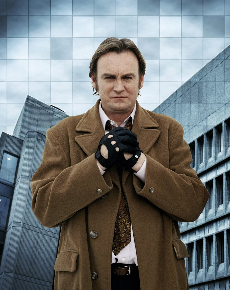 DCI Gene Hunt from Life On Mars.
