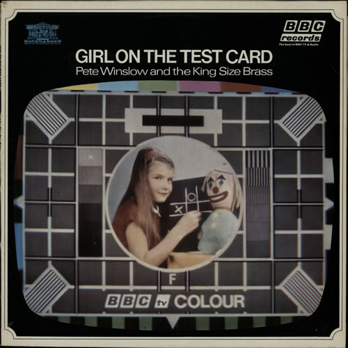 Girl On The Test Card by Pete Winslow And The King Size Brass, BBC Records And Tapes RBT103.
