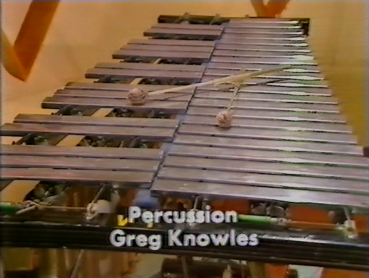 Greg Knowles' credit from the end titles of How Do You Do! (BBC1, 1977).
