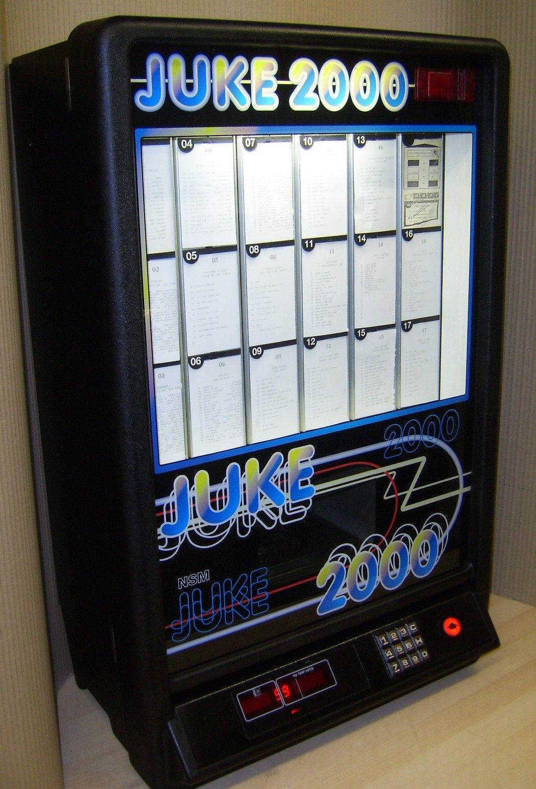 The Juke 2000 CD Jukebox.