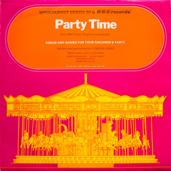 Party Time, BBC Records And Tapes RBT6.