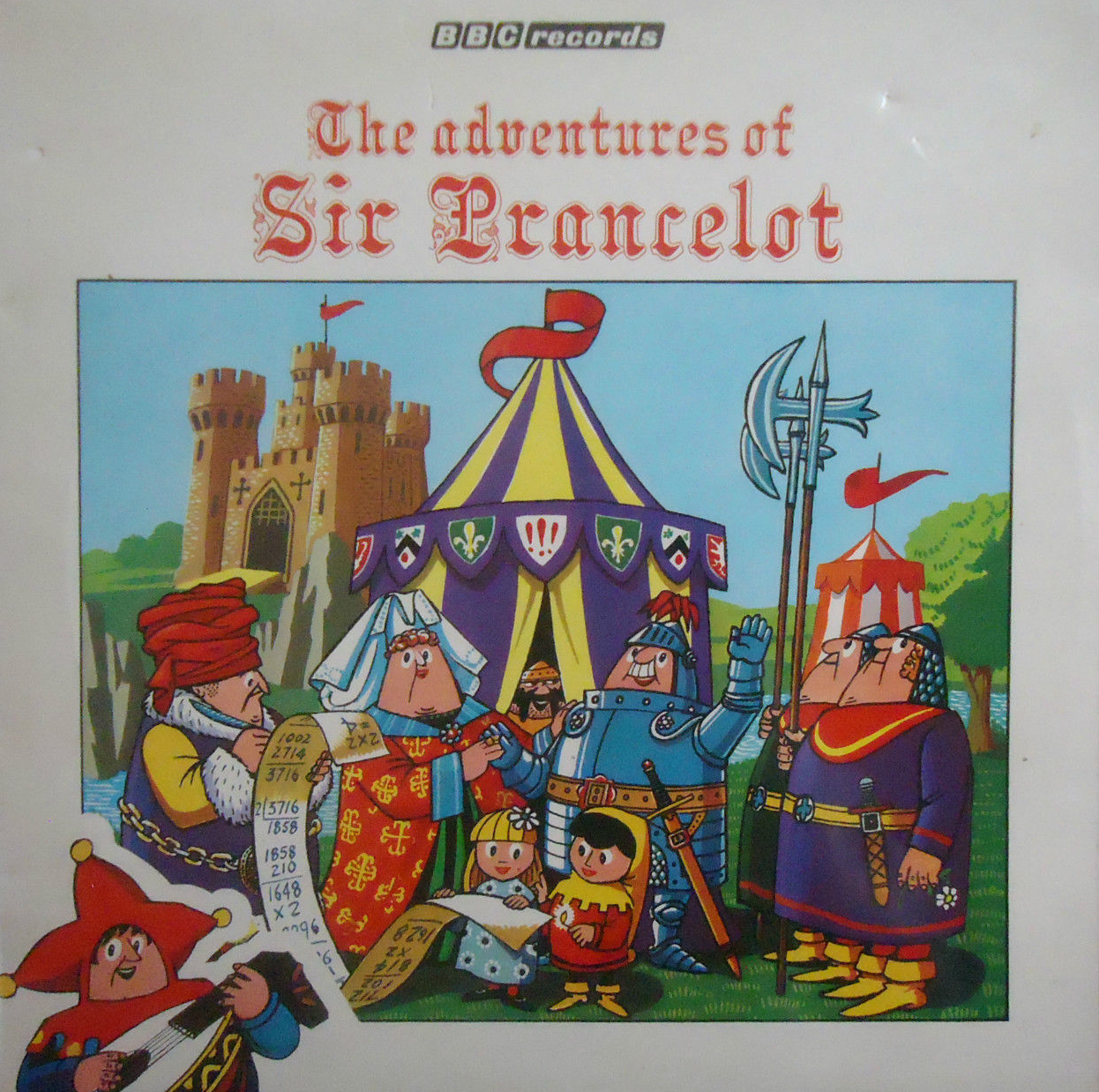 The Adventures Of Sir Prancelot, BBC Records And Tapes RBT12.