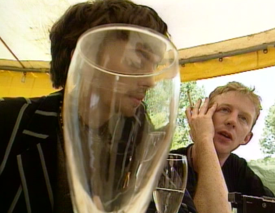 Graham Coxon and Dave Rowntree from Blur in Starshaped (1993).