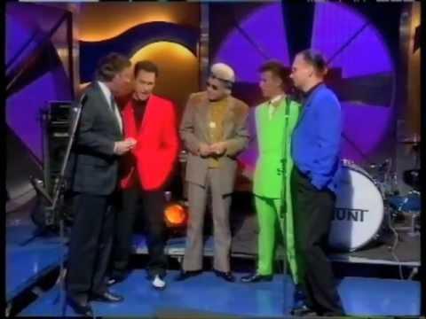 Tin Machine on Wogan, 1991.