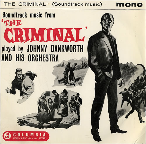 Soundtrack Music From 'The Criminal' by Johnny Dankworth.