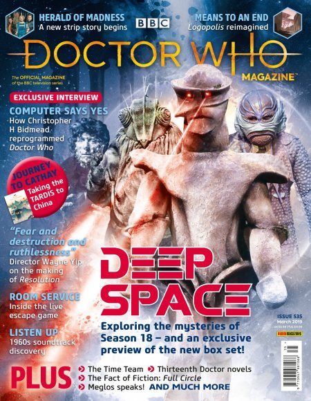 Doctor Who Magazine issue 535.