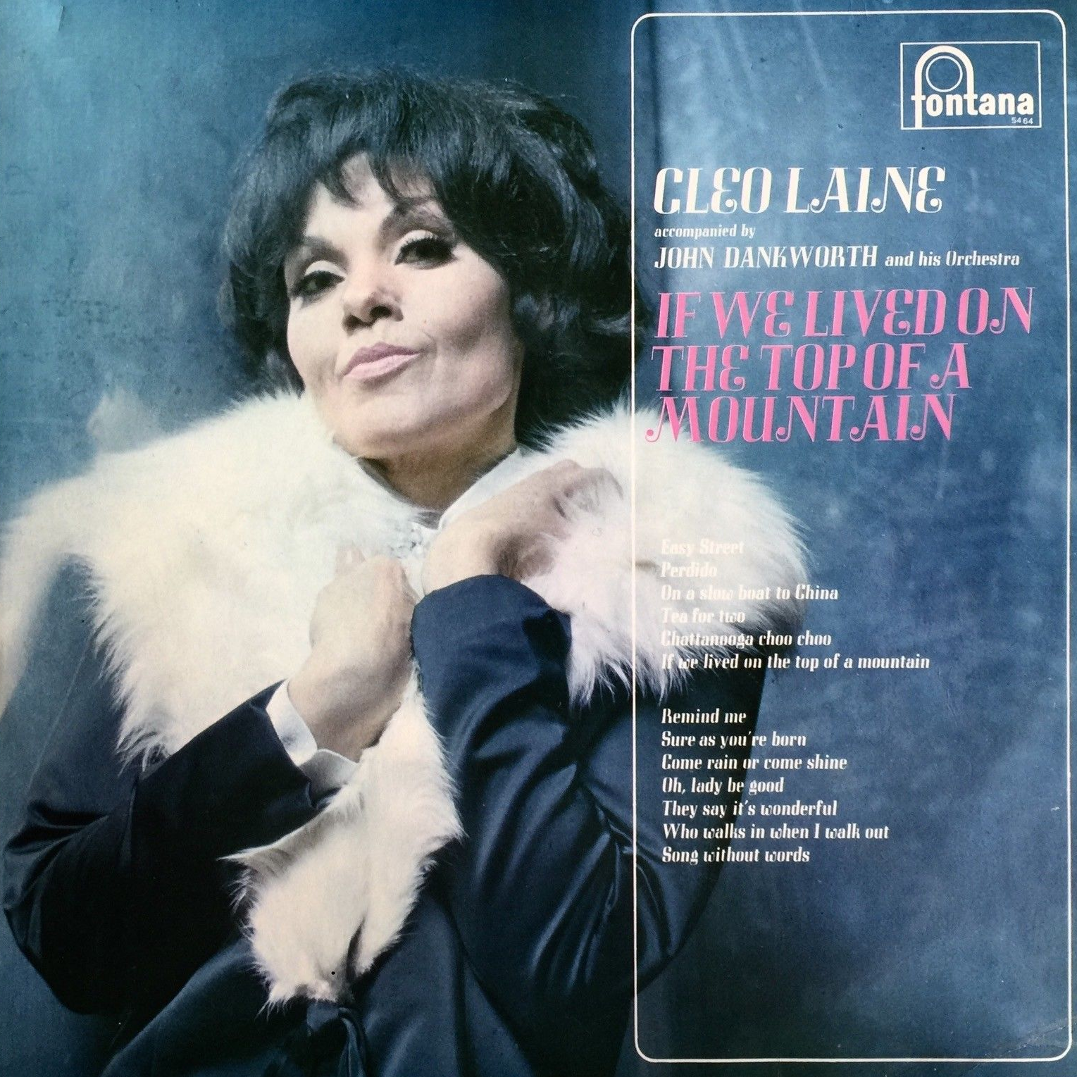 If We Lived On The Top Of A Mountain by Cleo Laine (Fontana, 1968).