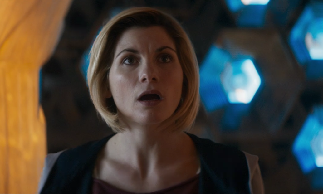 Jodie Whittaker in Doctor Who: Rosa (BBC1, 2018).