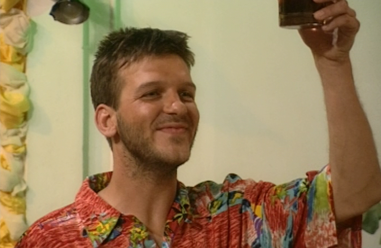 Warren in the final scene from This Life.
