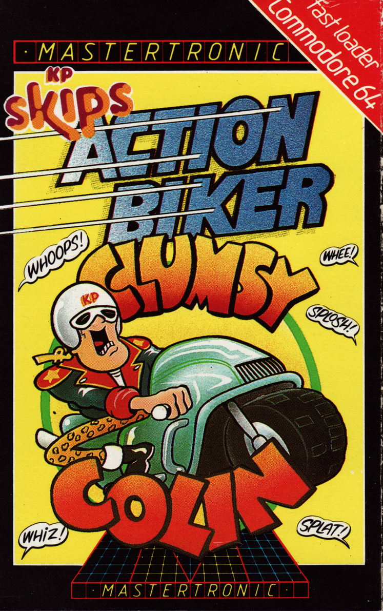 KP Skips Clumsy Colin Action Biker, as discussed by Tim Worthington and Michael Livesley in Looks Unfamiliar.