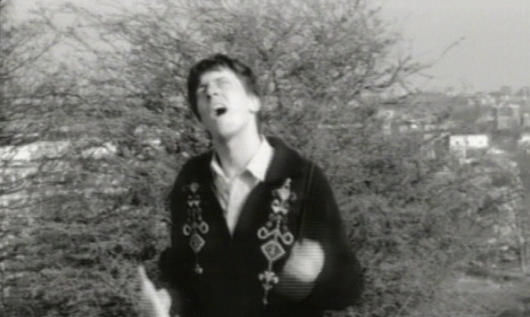 Graham Coxon in the promo video for For Tomorrow by Blur (Food/EMI, 1993).